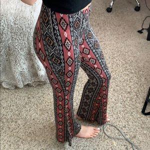Patterned Flowey Pants